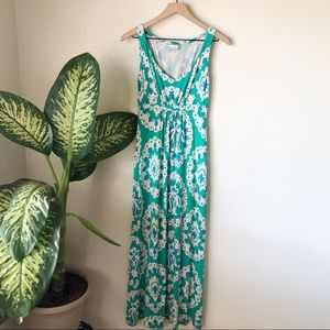 Boden | Printed Jersey Maxi Dress